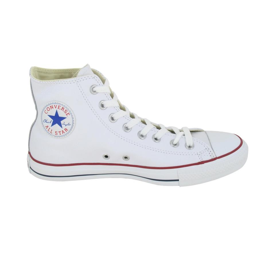 Converse White Ct Hi Leather Basketball Leather Hi Sneakers fd2f9c