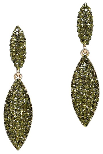 Preload https://item3.tradesy.com/images/green-olivine-crystal-accent-drop-earrings-2196522-0-0.jpg?width=440&height=440