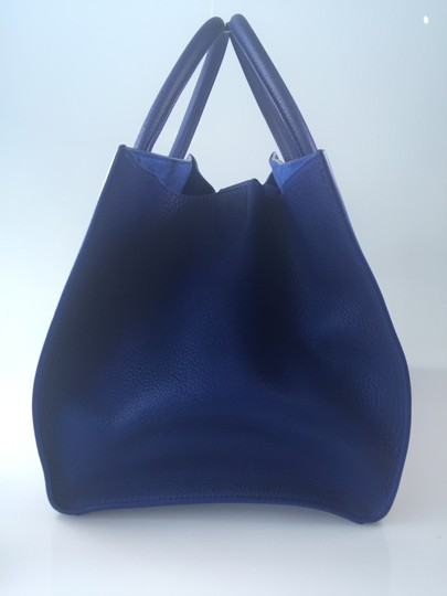 Céline Phantom Penny Lane Tote in Cobalt Blue