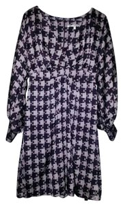 Collective Concepts short dress Purple Multi Long Sleeve on Tradesy