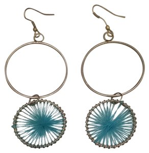 Boutique Dreamcatcher Turquoise Earrings