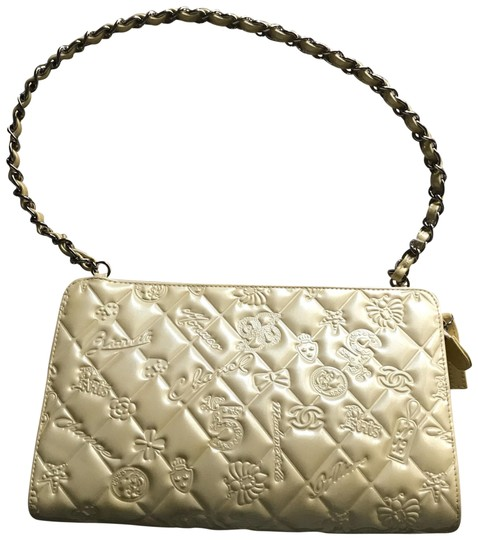 7142ab62b3cb Chanel White Patent Leather Bag | Stanford Center for Opportunity ...