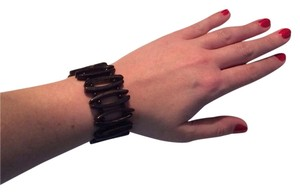 Brown Stretchy Wooden Bracelet
