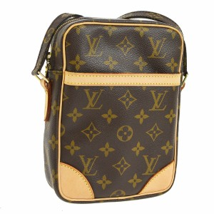 Louis Vuitton Vintage Leather Monogram Luxury European Cross Body Bag