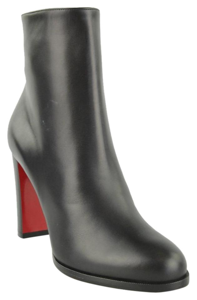 Christian Louboutin Black Adox 85 CalfCuoio BootsBooties Size EU 39 (Approx. US 9) Regular (M, B) 25% off retail