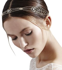 Silver Silver-plated Star Crystal Headband Hair Accessory