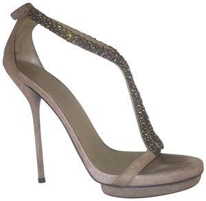 Gucci Taupe with black crystals Formal