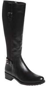 La Canadienne Ridiing Over The Knee Otk BLACK LEATHER Boots