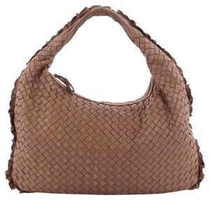 Bottega Veneta Nappa Leather Hobo Bag