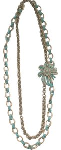 Milly of New York by Michelle Smith Collection Milly NY Blue & Gold Necklace