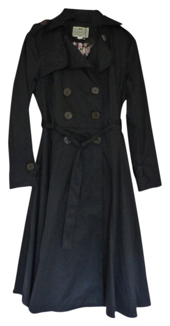 Item - Black Dietrich Swing Coat Size 10 (M)
