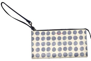 Coach Coach Bleecker Painted Dot Coated Canvas Wallet