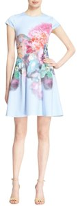Ted Baker short dress Pale Blue on Tradesy