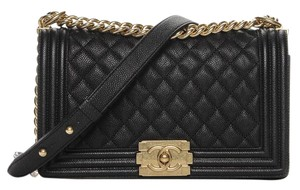 Chanel Boy Tweed Shoulder Bag