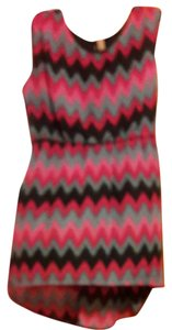 No Boundaries short dress Black pink turquoise on Tradesy