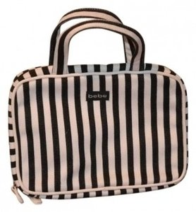 bebe Make Up ..like New Never Use black and white Travel Bag