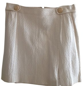 Dolce&Gabbana Mini Skirt Cream