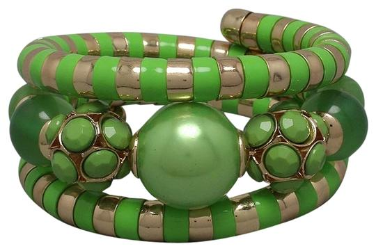 Preload https://item1.tradesy.com/images/green-and-gold-wrap-around-bracelet-2196935-0-0.jpg?width=440&height=440