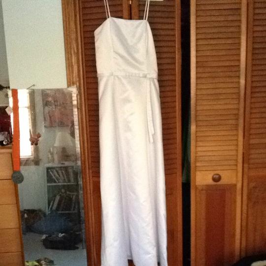 Jessica McClintock White Wedding Dress Size 8 (M)