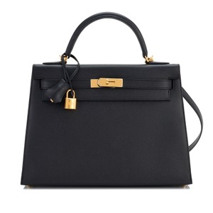 Hermès Kelly Kelly 32 Kelly 32 Epsom Kelly Sellier Kelly Shoulder Bag