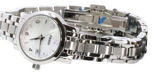 Fendi Signature Sapphire Crystal Water Resistant Stainless Steel Swiss 2100L