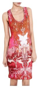 MCQ by Alexander McQueen short dress Pink Zippers Logo Monogram Bodycon Stretchy on Tradesy