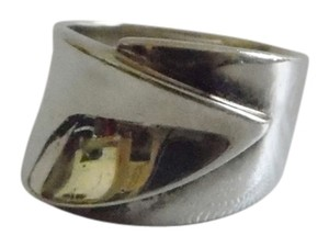 Silver Style Silver Style .925 High Polish Wrap Design Band Ring size 8