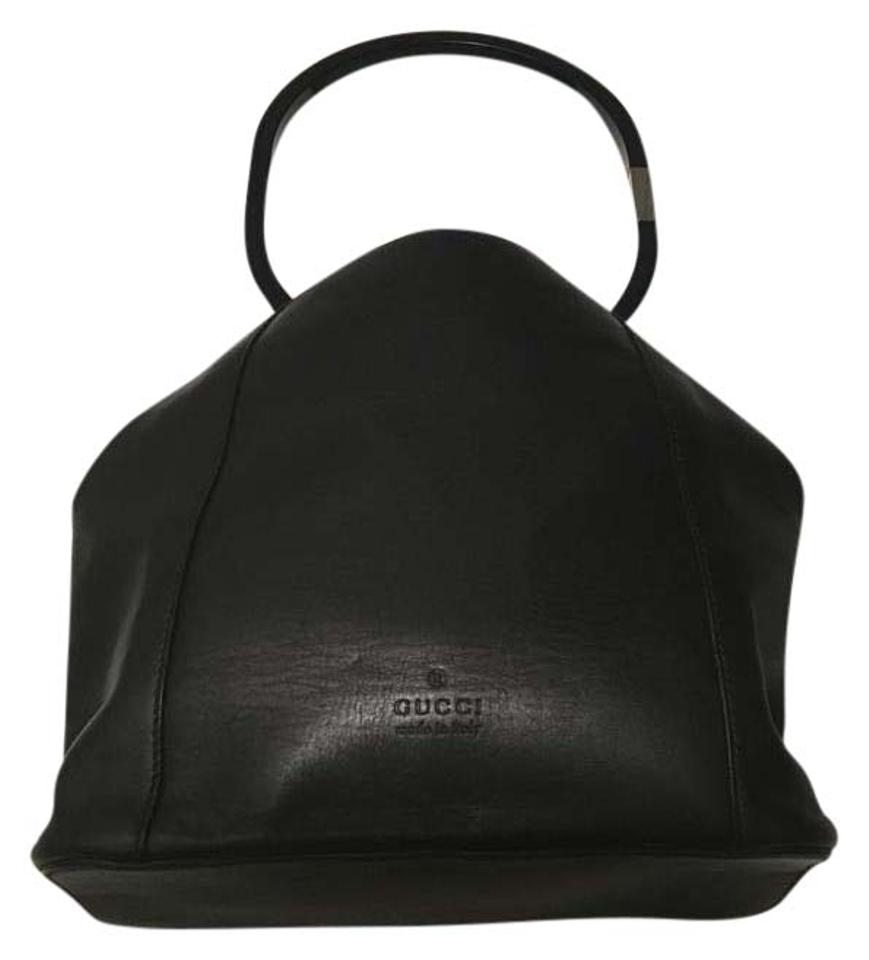dc25e990457029 Gucci Vintage Leather Tote Black | Stanford Center for Opportunity ...
