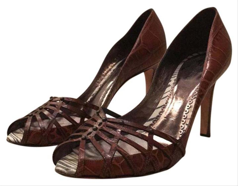 Giorgio Armani Alligator Skin Stilettos Formal Shoes ...