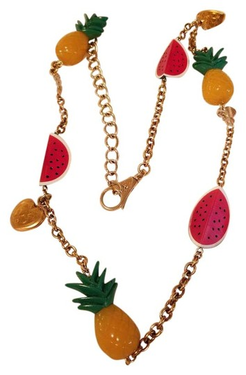 Preload https://img-static.tradesy.com/item/21970360/dolce-and-gabbana-gold-chain-pineapple-and-watermelon-beltneacklace-belt-0-1-540-540.jpg