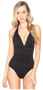 Tommy Bahama Tommy Bahama Pearl Pleated Halter One-Piece swimsuit