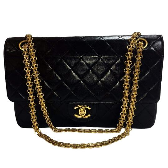 858f77ac0fad Chanel Classic Flap Bag Black Gold Chain | Stanford Center for ...