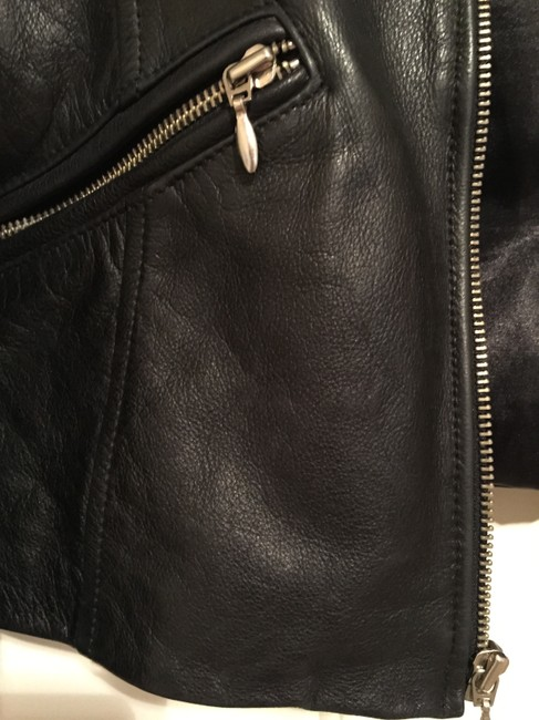 Guess Motorcycle Moto Leather Jacket