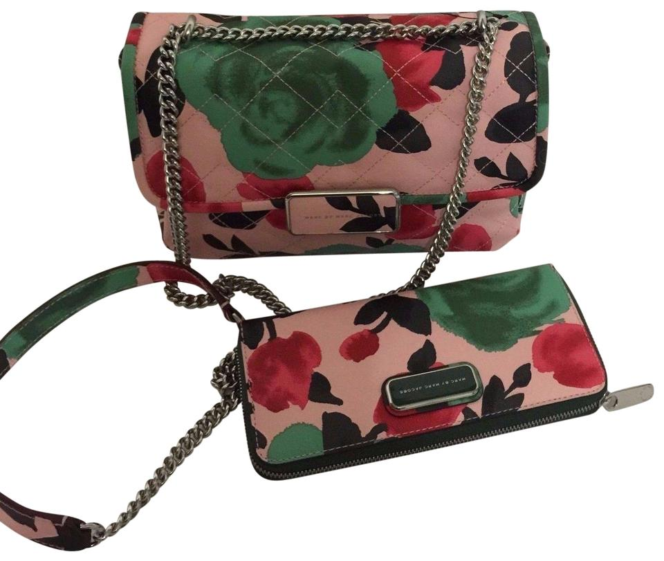 6a6dd4036444 Marc by Marc Jacobs Rebel Jerrie Quilted Rebel 24 Shoulder   Desert Rose  Multi Leather Cross Body Bag