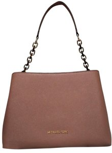Michael Kors Portia Tote Satchel in dusty rose