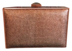 Malini Muriani Rose Gold Clutch