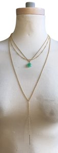 Cära Couture Jewelry Three Tiered Lariat Necklace