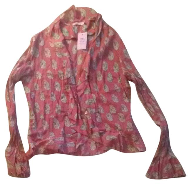 Preload https://item5.tradesy.com/images/calypso-st-barth-coral-blouse-size-0-xs-2197269-0-0.jpg?width=400&height=650