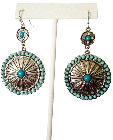 Other NWOT Turquoise Silver-Tone Concho Earrings