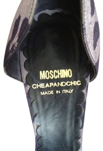 Moschino Fun Vintage LIGHT PURPLE & DARK PURPLE Pumps
