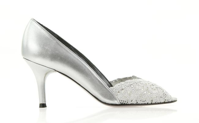 Item - Silver Chantelle Formal Shoes Size US 6 Narrow (Aa, N)
