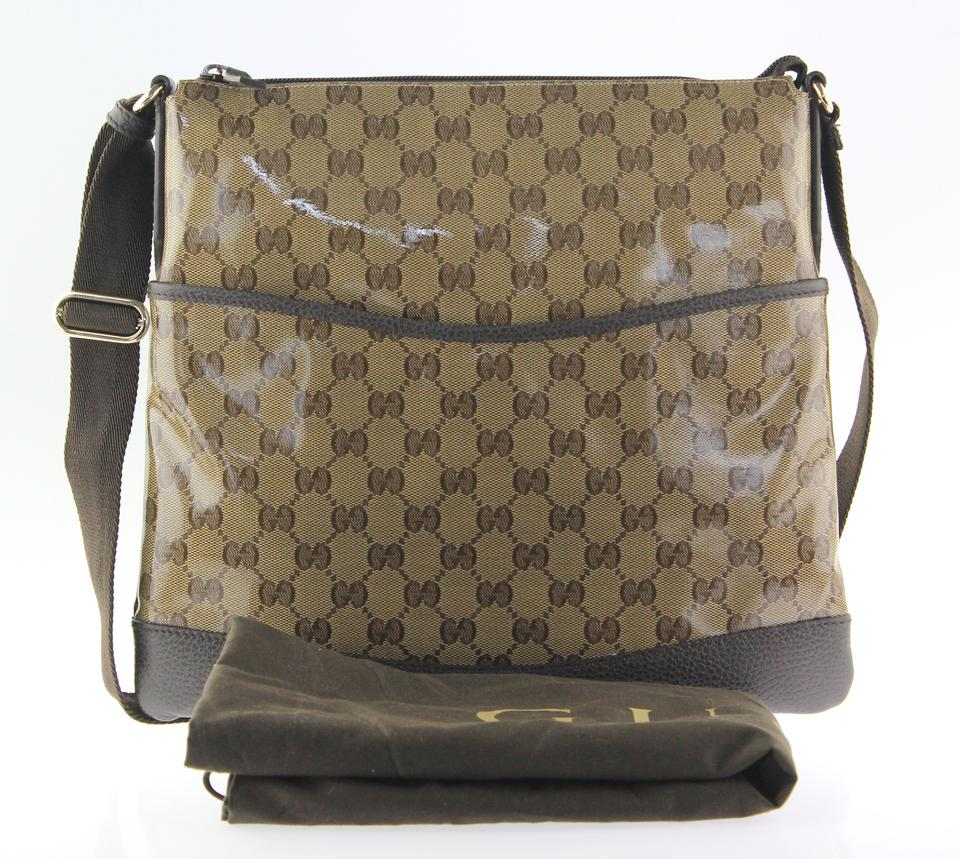 f540d0dc4b0 Gucci Beige and Brown GG Messenger Bag Image 11. 123456789101112
