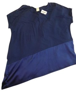 Bamboo Top Dark blue