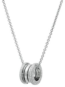 Bulgari Bulgari Bzero White Gold Diamond Necklace