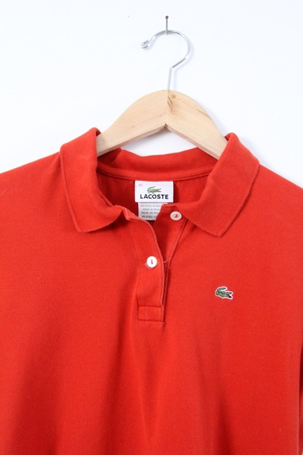 Lacoste Polo T Shirt Red