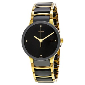 Rado Rado Black Ceramic Men's Fashion Watch Style Analog