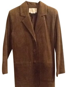 Margaret Godfrey Suede Leather Jacket