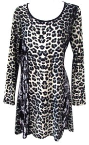 Adore! Long Sleeve Animal Print Leopard Casual Tunic