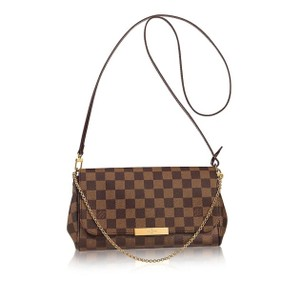 Louis Vuitton Damier Ebene Favorite Mm Cross Body Bag