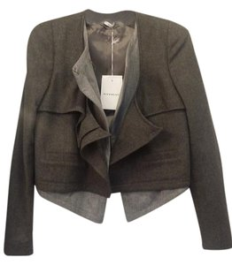 Givenchy Edgy Fall Wool Cashmere Grey Jacket